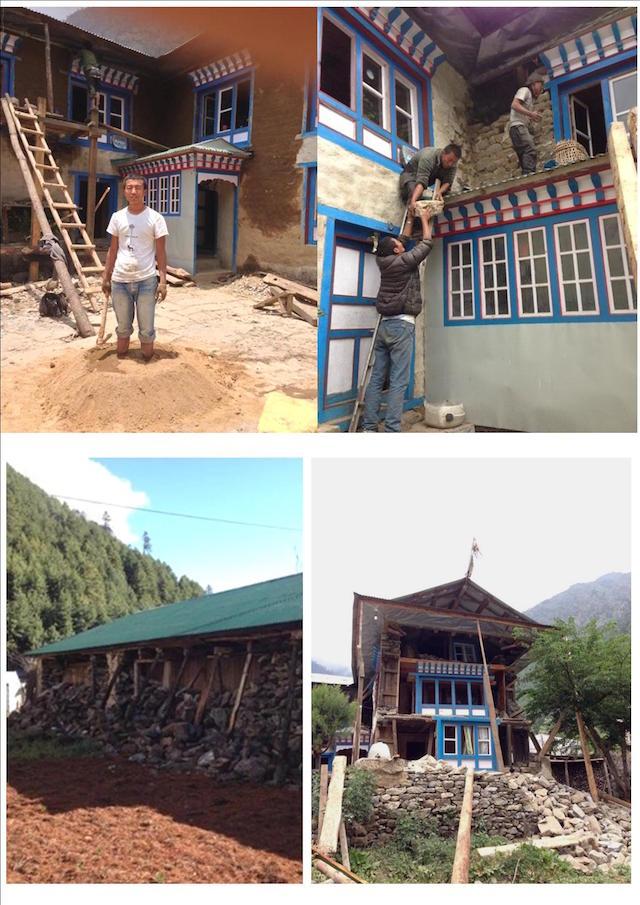 Nepal gefuehrte Wanderung