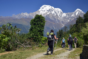 Nepal Wanderreise ohne Höhenstress