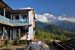 Schöne Lodges beim Nepaltrekking mit wanderauzeit