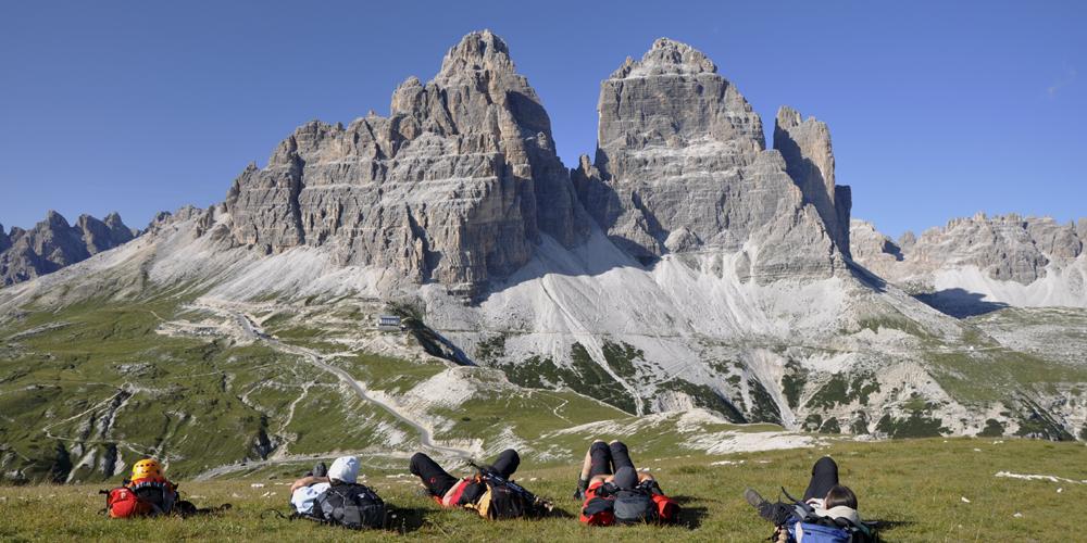 Berge als Kraft und Erholungsquelle