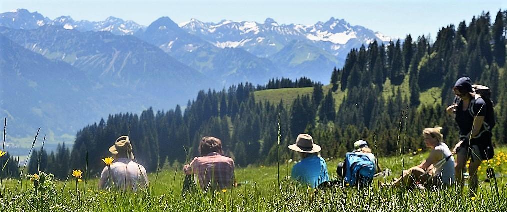 Genuss-Wandern im Allgäu , wanderauszeit