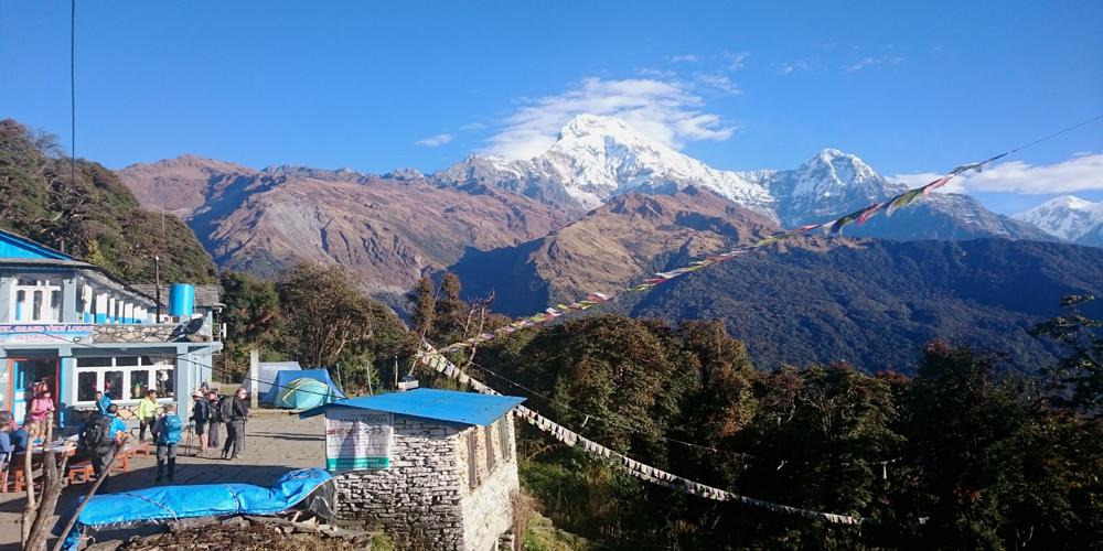 Nepal wanderreise für EInsteiger -wanderauszeit