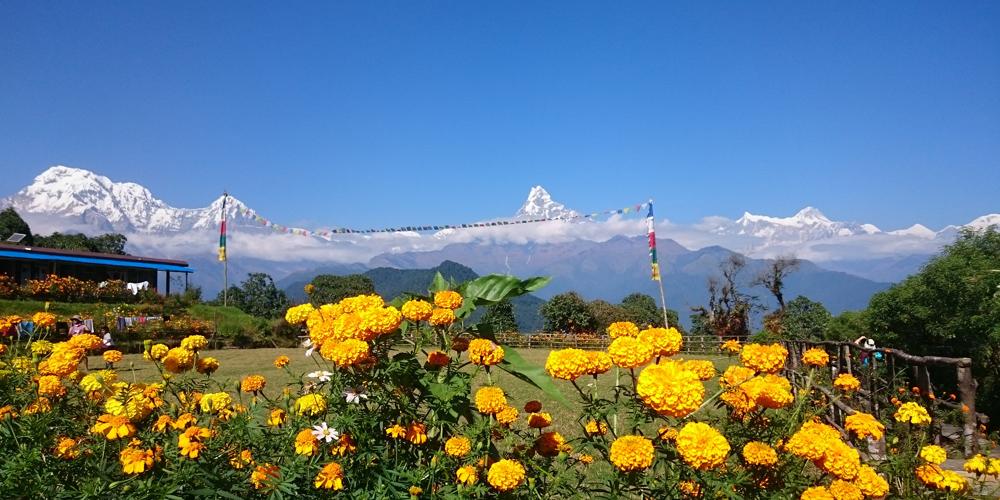 Virtuelle Nepal-wanderreise